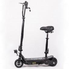 Детский электроскутер escooter 250watt lithium battery (с сиденьем)