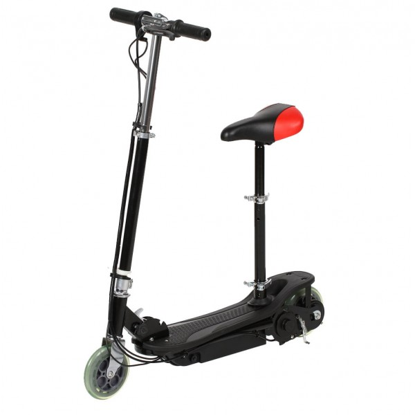 Электросамокат Е-Scooter CD-03s 120W (с сиденьем)